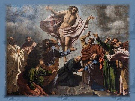 Pietro della Vecchia - Ascension of Christ, [Public domain], via Wikimedia Commons